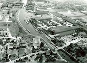 Kanaal Bossuit-Kortrijk -Sluis 7 in Zwevegem in 1976