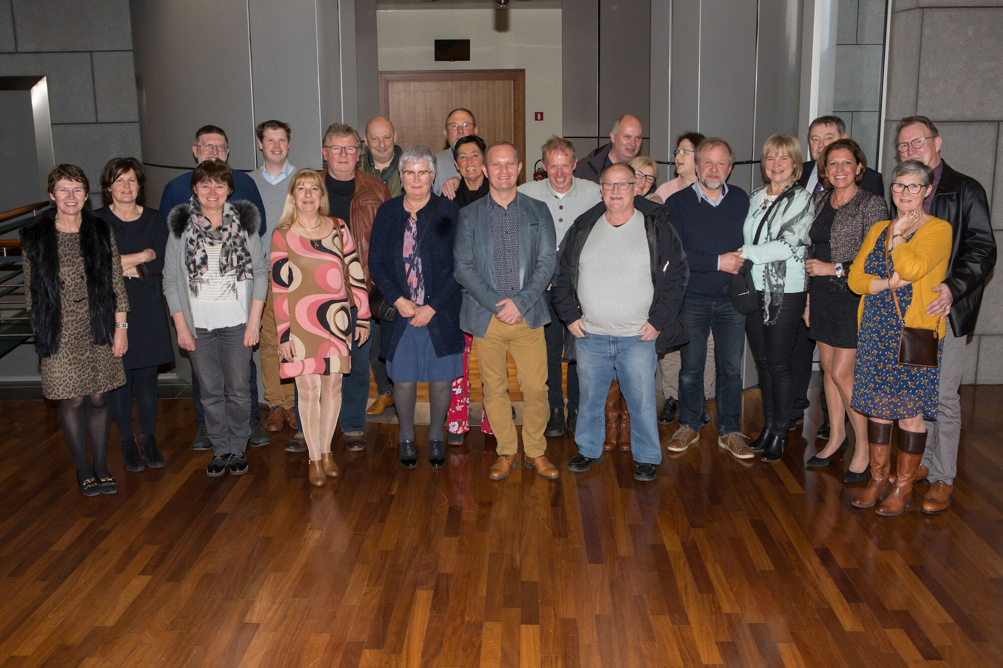 Afscheidsviering oprustgestelde personeelsleden 2019