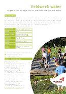 Veldwerk water infofiche