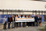 Rondleiding en stand van zaken bij de bouw van het regionaal erfgoeddepot Zuid-West-Vlaanderen in Heule  op 27 september 2017  erfgoeddepot