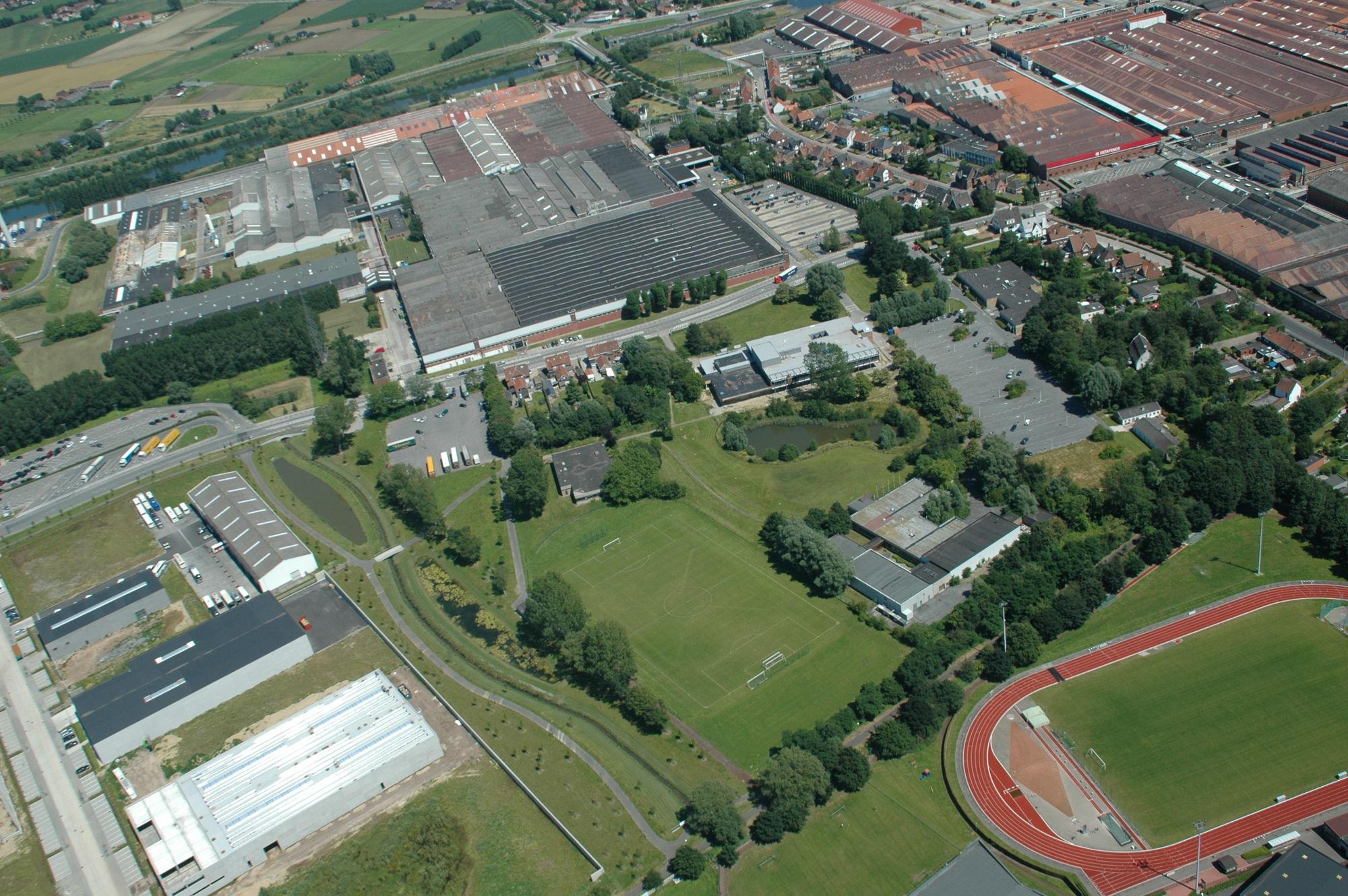 Luchtfoto's Zwevegem juli 2012