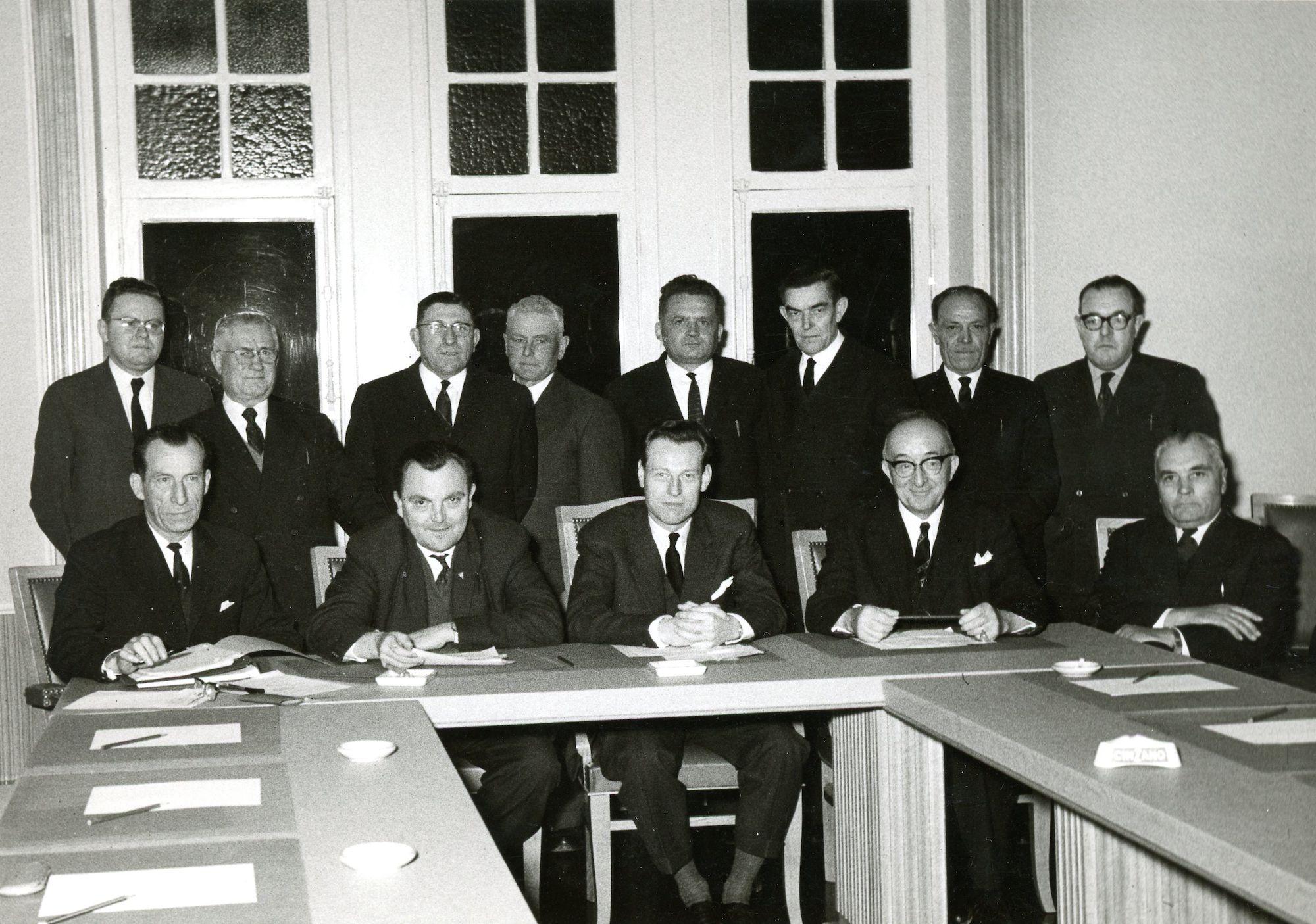 Gemeenteraad 1952