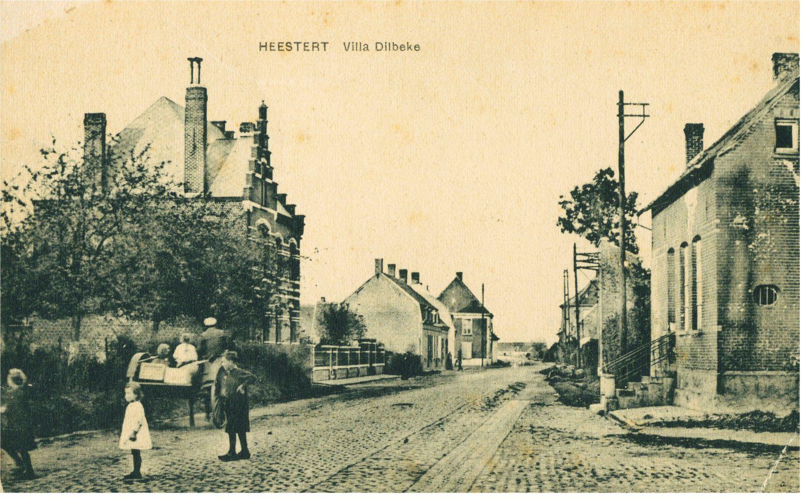 Gauwelstraat in Heestert