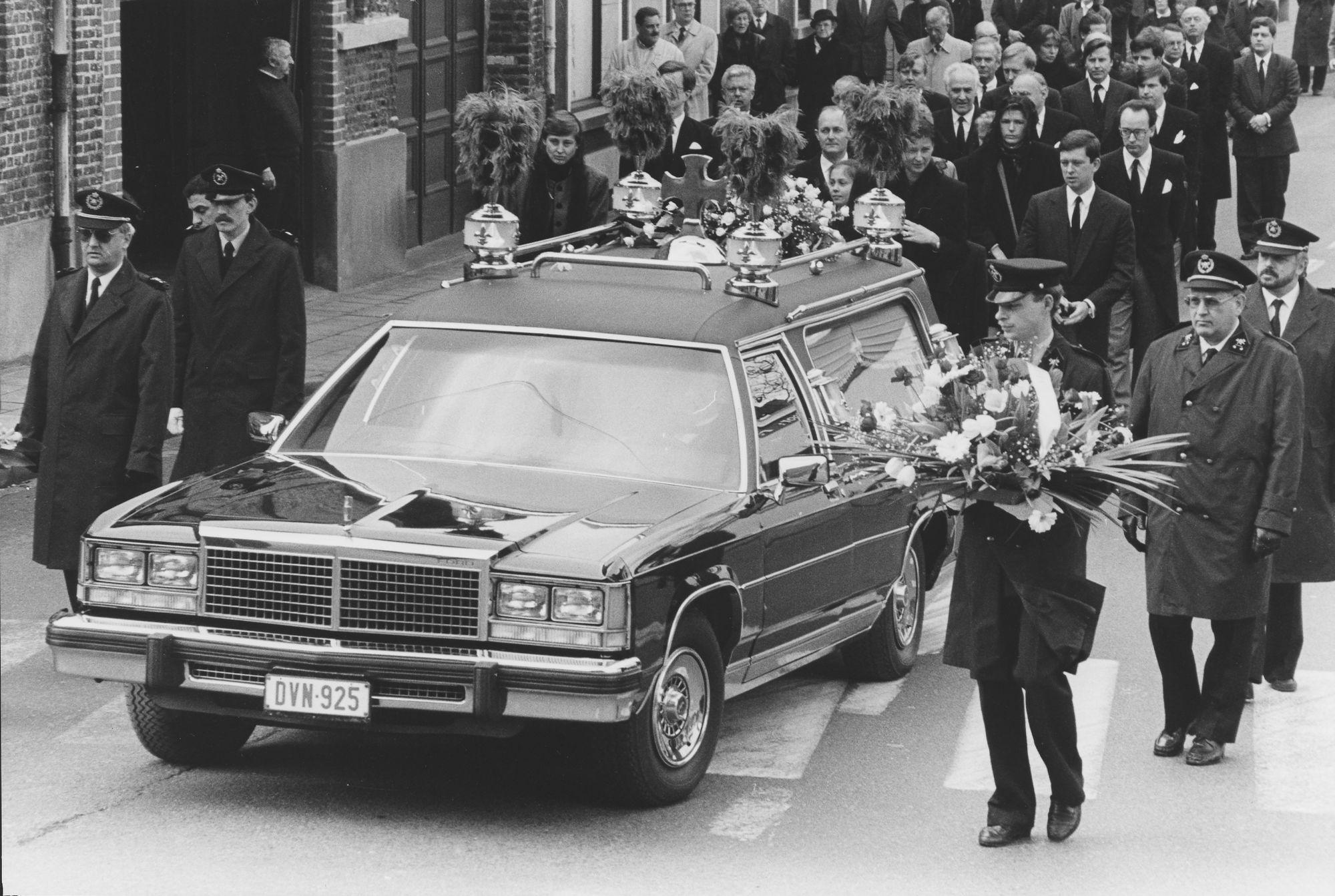 Begrafenis Antoon Bekaert